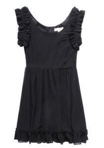 DRESS CHIFFON KOREA STYLE - J9206 Black(3)